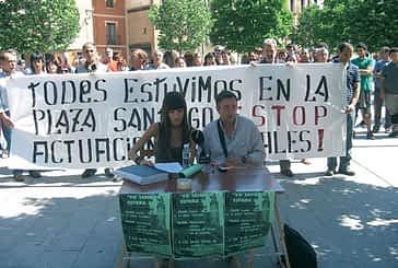 Termina la campaña  de recogida de firmas a favor de los jóvenes encausados tras   la kalejira de fiestas