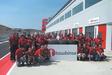 Tasubinsa elabora y coloca las barreras de seguridad del Circuito de Navarra