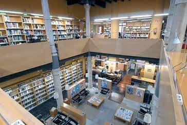 La biblioteca Miguel de Eguía cumple una década