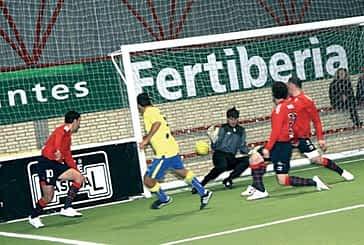 El polideportivo será testigo del partido 'indoor' Osasuna-Real Sociedad