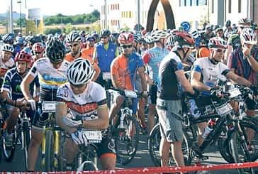La Saltamontes reunió a 550 aficionados a la bicicleta