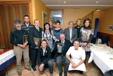 Javier Caamaño recogió el Premio Estellés del Año 2011
