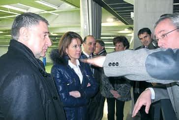 Yolanda Barcina inauguró el IES Tierra Estella en el quinto mes de curso
