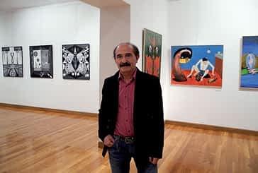 Simbolismo y surrealismo en la nueva exposición  de la casa de cultura