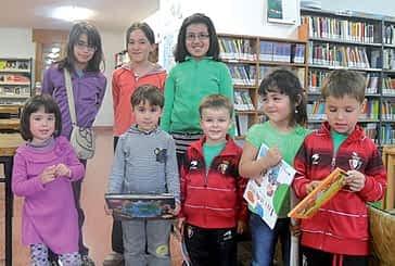 La biblioteca de Allo premió a sus usuarios en dos concursos