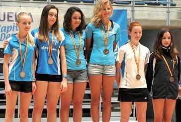 Ana Montoya, subcampeona de España sub 15 en Huelva