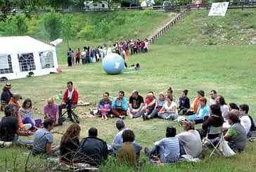 Artaza, Urbasa, Estella y Zubielqui fueron testigos de un encuentro por la paz