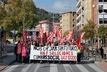 La protesta regresó a las calles de Estella con motivo de  la Huelga General