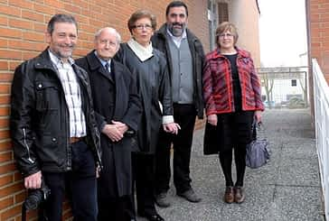 Villatuerta 'recupera' los altorrelieves de la ermita de San Miguel