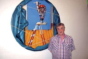 Antonio Laita muestra en la casa de cultura sus últimas obras