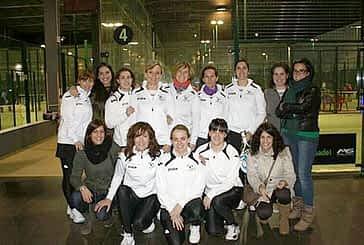Meritoria participación del Club Raqueta Montejurra en Pamplona