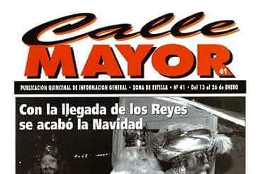 CALLE MAYOR 041 - CON LA LLEGADA DE LOS REYES SE ACABÓ LA NAVIDAD