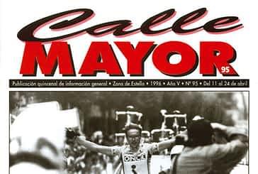 CALLE MAYOR 095 - ALEX ZULLE GANÓ EL GRAN PREMIO NAVARRA DE CICLISMO