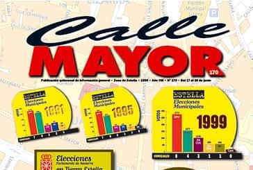 CALLE MAYOR 170 - ELECCIONES PARLAMENTO DE NAVARRA EN TIERRA ESTELLA