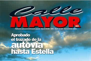 CALLE MAYOR 223 - APROBADO EL TRAZADO DE LA AUTOVÍA HASTA ESTELLA