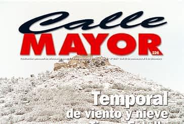 CALLE MAYOR 226 - TEMPORAL DE VIENTO Y NIEVE EN TIERRA ESTELLA