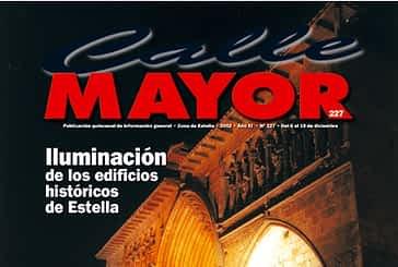 CALLE MAYOR 227 - ILUMINACIÓN DE LOS EDIFICIOS HISTÓRICOS DE ESTELLA