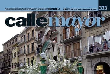 CALLE MAYOR 333 - LA PROCESIÓN RECORRIÓ LAS CALLES DE ESTELLA