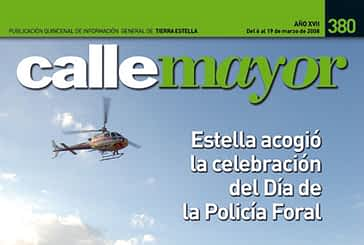 CALLE MAYOR 380 - ESTELLA ACOGIÓ LA CELEBRACIÓN DEL DÍA DE LA POLICÍA FORAL
