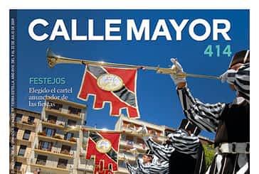 CALLE MAYOR 414 - ESTELLA DA LA BIENVENIDA A LA SEMANA MEDIEVAL