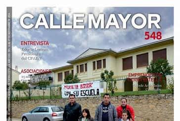 CALLE MAYOR 548 - TRISTE ADIÓS A LA ESCUELA DE MURIETA