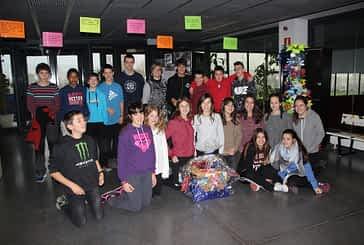 Proyecto navideño solidario en el IES Tierra Estella y el Politécnico