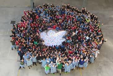 Santa Ana y Mater Dei conmemoran el Día Escolar de la No Violencia y la Paz con fines solidarios