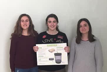 Tres alumnas del Puy recibieron el premio 'Tecnun Gaztenpresa'