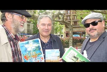 Tres escritores vinculados a Estella presentan sus libros