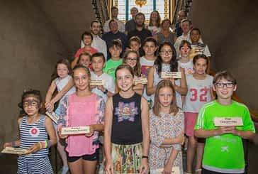 Eva Armendáriz gobernará las Fiestas de Estella como alcaldesa infantil