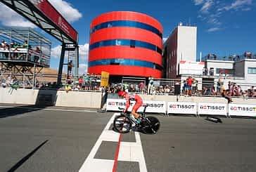 La Vuelta a España, presente en el Circuito de Navarra