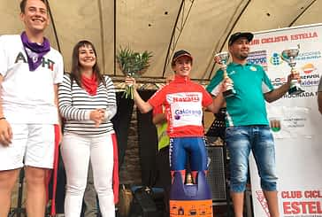 Unai Esparza,  campeón Navarro en Dicastillo