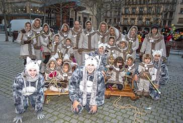 Estella tuvo su primera 'parade' de Carnaval