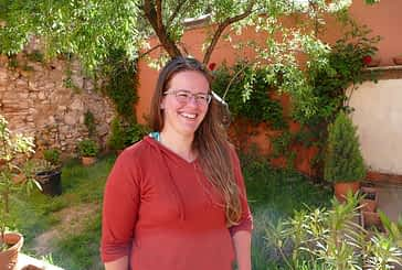 """DE PASO POR ESTELLA - Jaqueline Klaus - """"Después de andar y andar, de repente te encuentras en Lorca un jardín en calma hecho para el peregrino. No lo esperaba"""""""