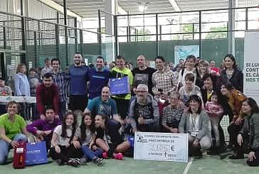 Celebrado el II Torneo Solidario de Pádel