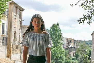"""Sandra Echávarri Balenzategui - Ganadora del cartel en categoría intermedia con 'La fiesta está en tu mano' - """"No sé por qué, pero tuve un presentimiento de que iba a ganar"""""""