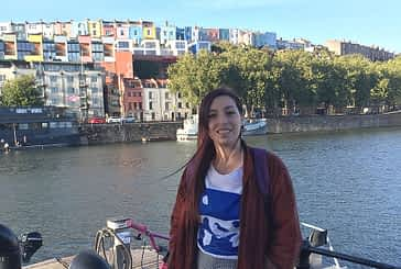 """TIERRA ESTELLA GLOBAL - Kristina Azpilikueta - Bristol (Inglaterra) - """"Aquí la gente es muy abierta de mente y simpática, lo que da libertad para ser tú misma"""""""