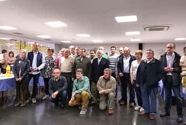 Los socios de Adona de Estella celebraron su fiesta anual