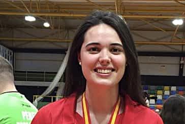 Nelly Iriberri, medalla de bronce en el Campeonato de España