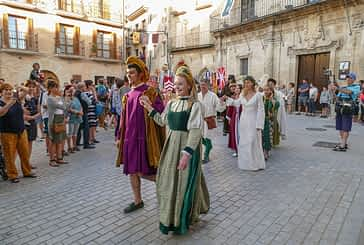 El Fuero de Estella recordó su origen en la Semana Medieval