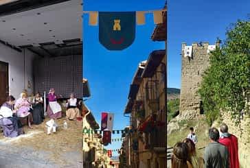 Fiesta medieval para conmemorar los 800 años de Aguilar de Codés