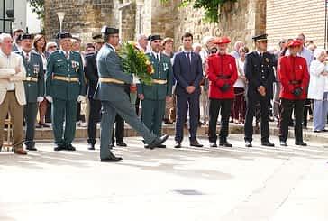 Cinco agentes de la Guardia Civil, condecorados el día de su patrona