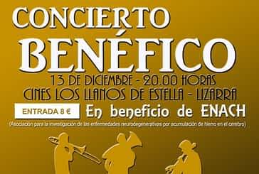 Estella acogerá un concierto en beneficio de ENACH