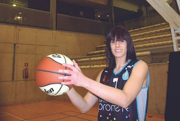 Primer plano: Miriam Goyache, jugadora de baloncesto