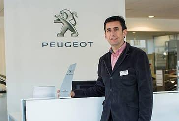 José Luis Marco, mejor Jefe de Ventas de Peugeot España