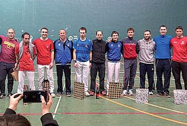 Final del I Torneo Popular de Mano Parejas para Jiménez y Ulibarrena