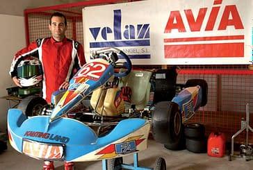 Luis Fernández revalida el Campeonato Navarro de Karting