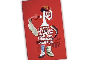 El cartel de la pamplonesa Silvia Martínez anuncia las fiestas de 2014