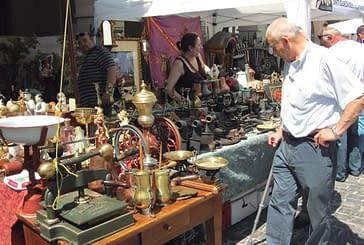 Veintidós anticuarios en el X Mercado de Antigüedades y Almoneda