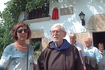 Cálido homenaje a Tarsicio Azcona en su pueblo natal